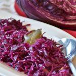 Salata de varza rosie cu morcovi