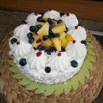 Tort diplomat cu iaurt de fructe