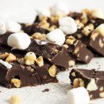 Ciocolata de casa cu alune si nuci
