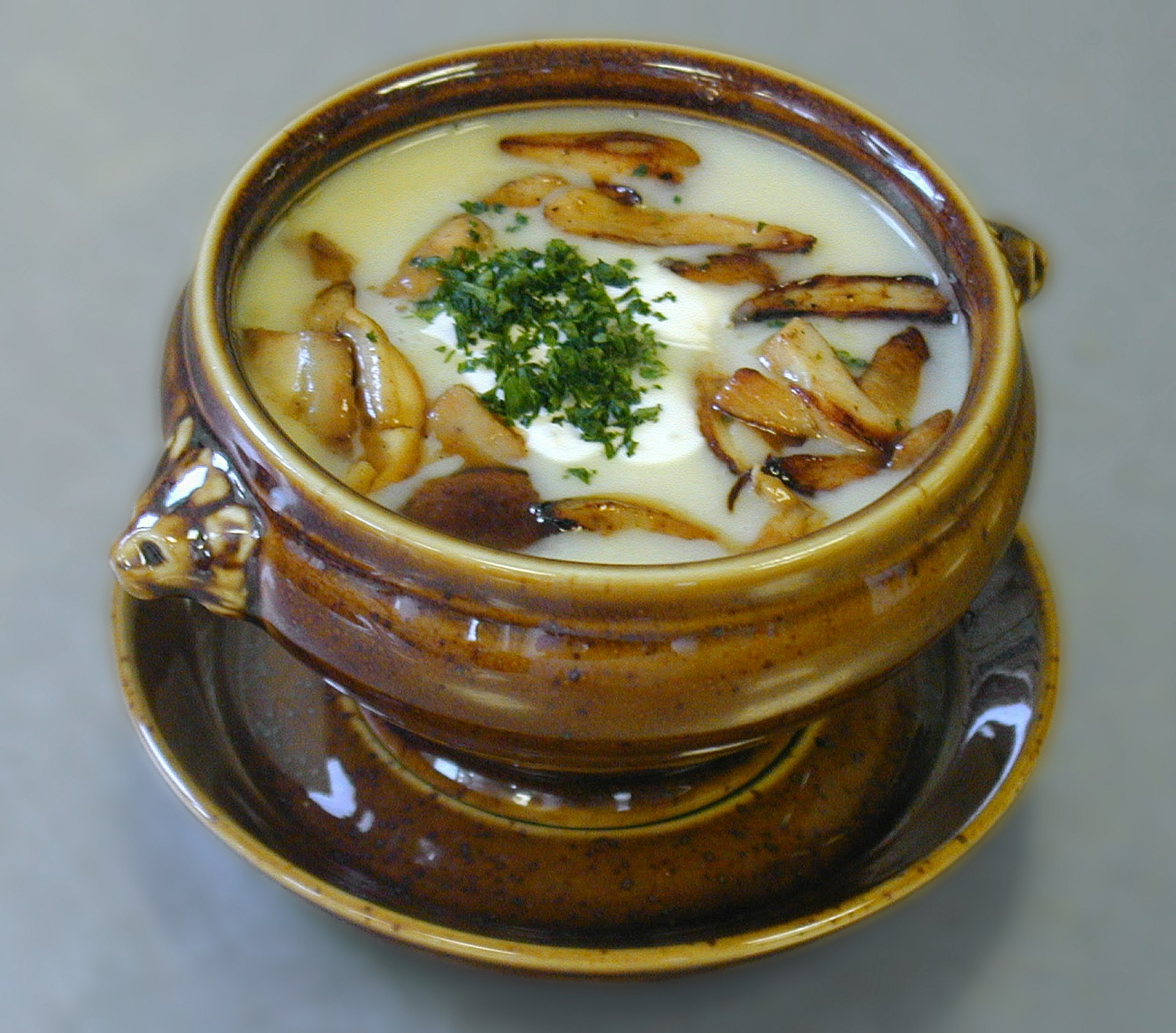 Ciulama de pui cu ciuperci si smantana