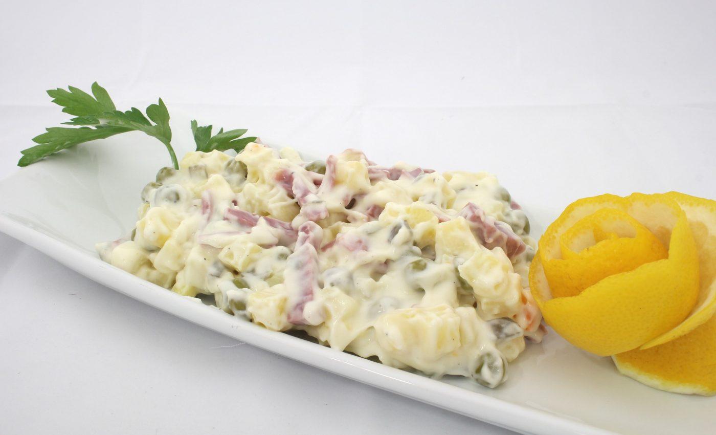 Salata de cruditati cu maioneza
