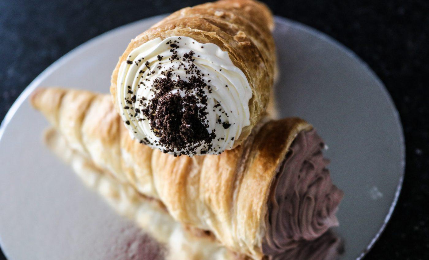 Cornete cu cacao