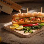 Sandwich special cu ton