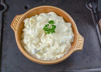 Salata venetiana cu pui si maioneza
