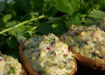 Barcute din cartofi cu cascaval