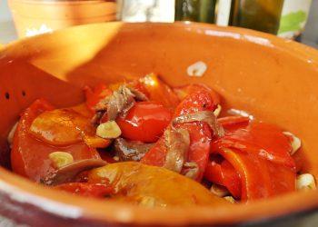 Salata de ardei capia copti