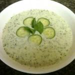 Supa de iaurt cu castraveti