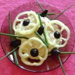Salata de icre cu ceapa