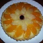 Tarta cu portocale si ananas