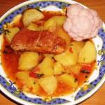Tocanita de cartofi cu carne slaba. Cea mai simpla reteta!