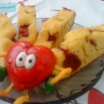 Retete pentru copii: Prajitura rapida cu zmeura