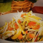 Salata de vitel cu fasole verde