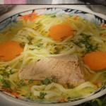 Supa de vitel cu taitei