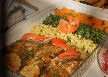Cotlet de vitel cu legume