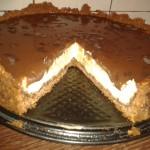 Retete de Pasti: Tarta cu crema de branza si ciocolata