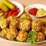 Retete de Pasti: Chiftelute de miel cu oua de prepelita