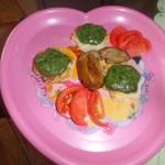Retete pentru copii: Ficat de pui cu sos de spanac