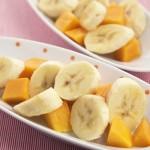 Retete pentru copii: Piure de mango si banane