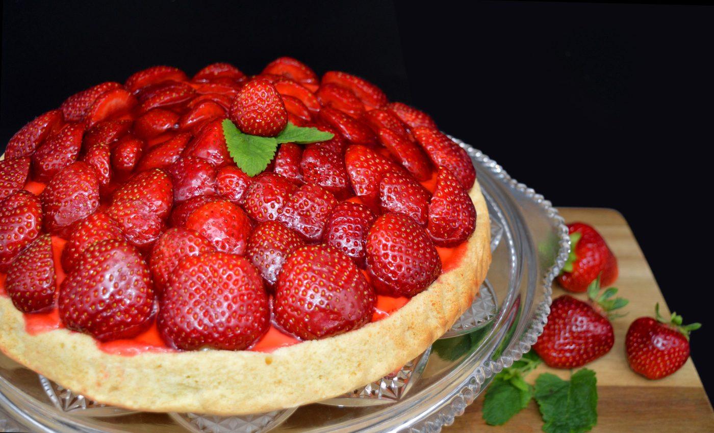 Prajitura cu capsuni - sfatulparintilor.ro - pixabay_com - strawberry-pie-5402017_1920
