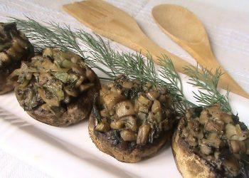 ciuperci umplute - caietul cu retete