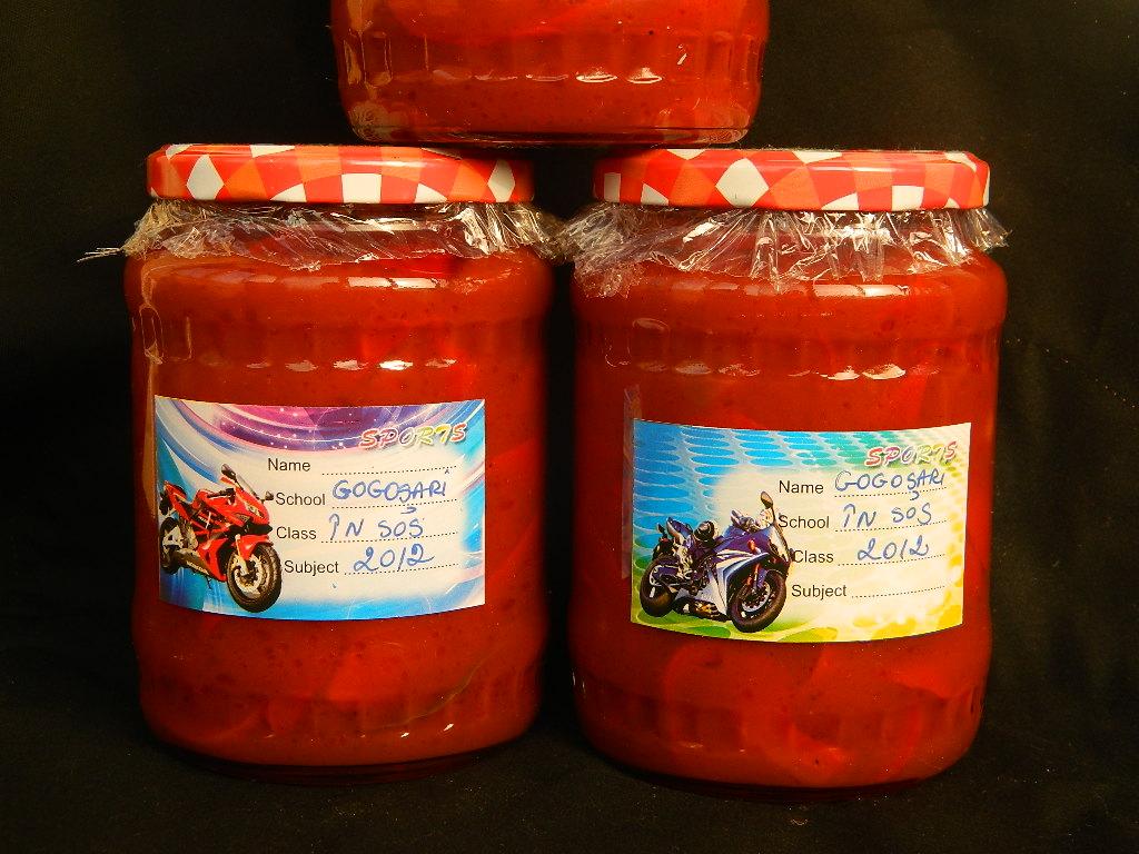 Gogosari in sos tomat