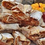 Placinta aromata cu mere, dovleac, gutui si nuci