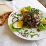 Salata de ciuperci cu ou