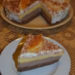 Tort mozaic cu portocale