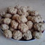 Biscuiti cu morcov/nuca de post