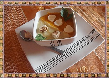 Supa crema bicolora