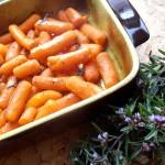 Morcovi cu cimbru la cuptor