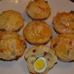 Retete de Pasti: Briose cu oua de prepelita
