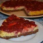 Retete de Pasti: Cheesecake cu capsune