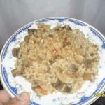 Ciuperci cu orez