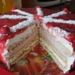 Retete de Pasti: Tort cu zmeura