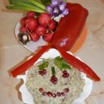 Salata de vinete cu ceapa