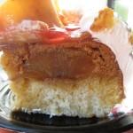 Prajitura cu mere si crema de zahar ars