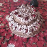 Tort cu crema ganache