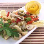 Salata de ghebe cu usturoi