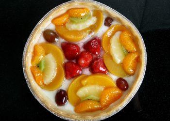 Mini tarte cu crema de vanilie