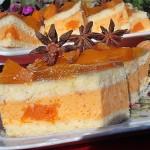 Prajitura cu dovleac si aroma de anason