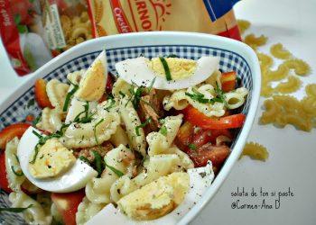 Salata de ton si paste