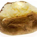 Cartofi la cuptor pe foaie de copt – jumatati in coaja