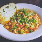 Secretul celui mai cremos si gustos orez cu legume si o delicioasa salata de cruditati