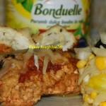 Rulouri din muschi file cu salata de andive si legume