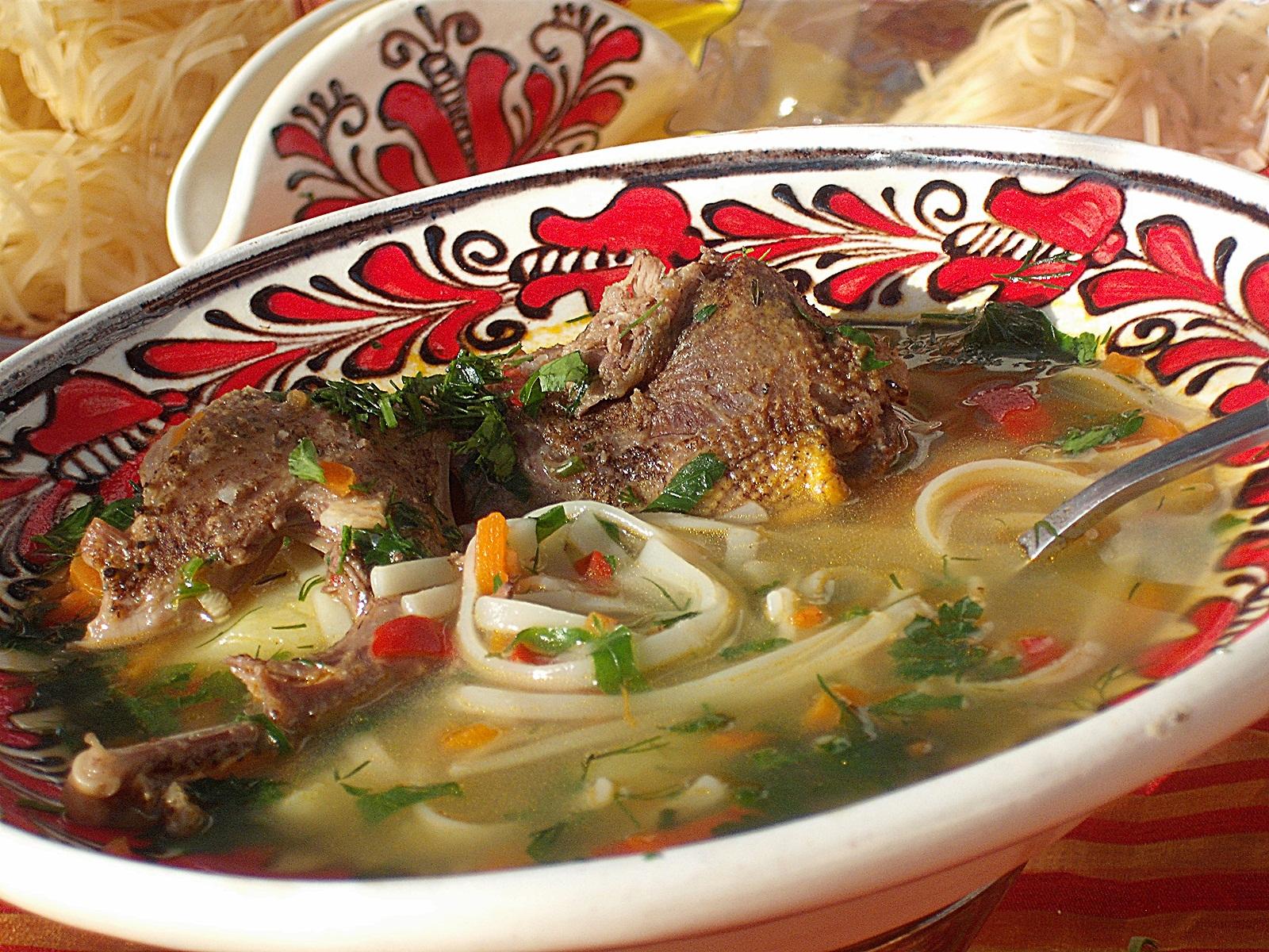 Supa de porumbei