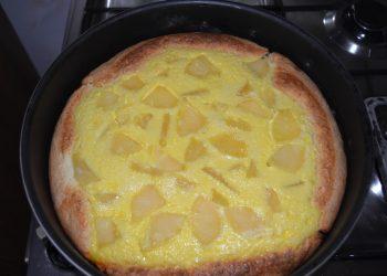 Placinta cu branza si ananas