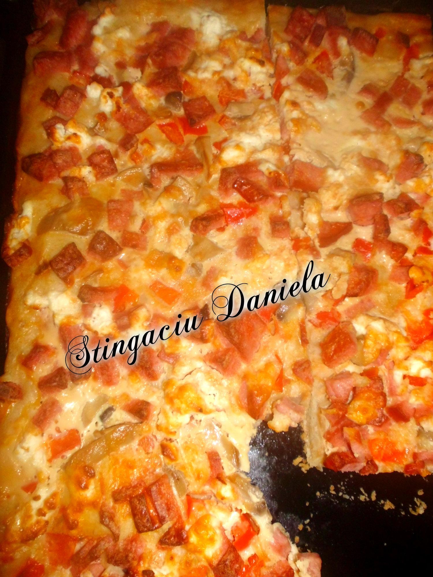Pizza Dobrogeana