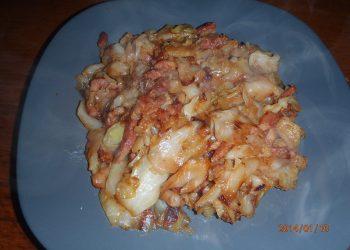 Varza rasfatata cu bacon