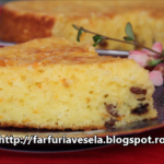 Retete de Pasti: Prajitura cu iaurt si stafide